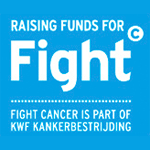 Logo Fight Cancer actie KWF